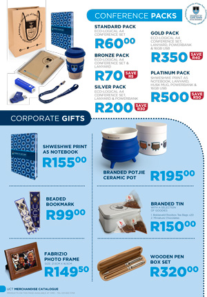 Download the corporate gifts and conference catalogue